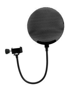 OMNITRONIC Microphone pop filter metal, black