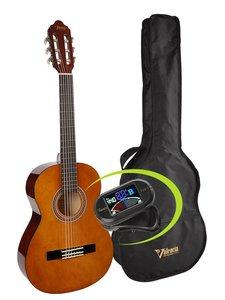 Valencia gitaarpakket klassiek  VC103K, 3/4 maat gitaar, hoes en clip tuner