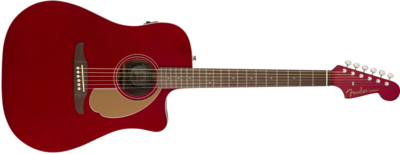 Fender Redondo Player, Walnut Fingerboard, Candy Apple Red
