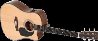 Sigma Guitars - GSI DMC-1STE+ Dreadnought Cutaway Electro