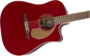 Fender Redondo Player, Walnut Fingerboard, Candy Apple Red_8